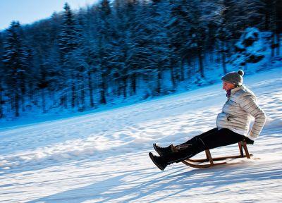 Winterlandschaft Fränkische Schweiz