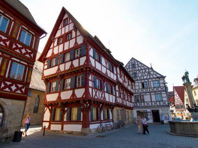 Fränkische Fachwerkkunst in Forchheim