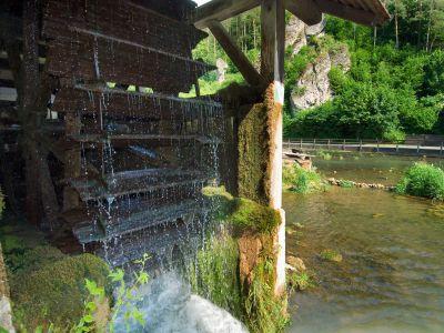 Wassermühle in der Fränkischen Schweiz