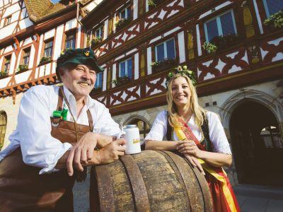 Die Bierkönigin aus Forchheim