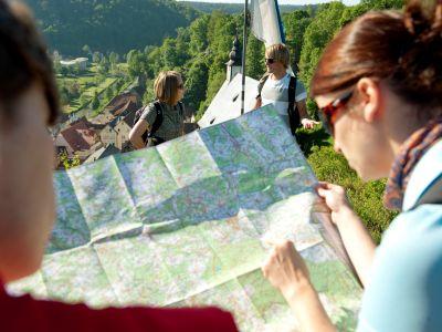 Prospekte und Karten aus der Fränkischen Schweiz